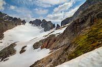 Cache Glacier and Col
