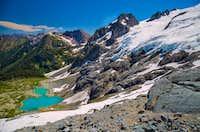 Le Conte Glacier and Lake