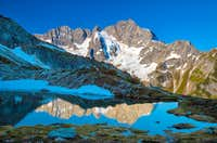 Mt. Formidable reflection in Kool Aid Lake