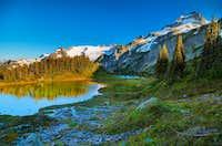 Le Conte Glacier and Mountain