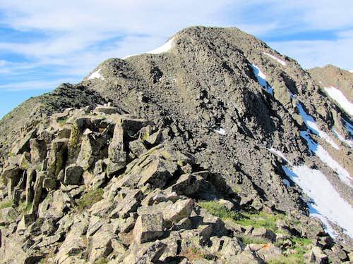 Peak 13232 ft (Allan Lake)