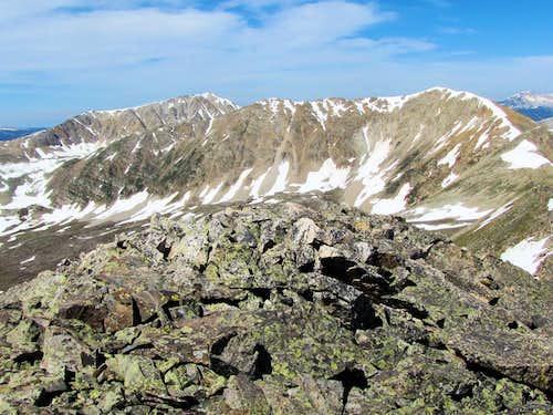 Peak 13295 ft