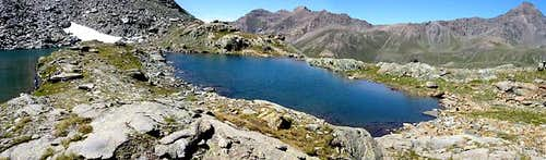 Gran Paradiso GROUP:  the smallest of Miserino lakes
