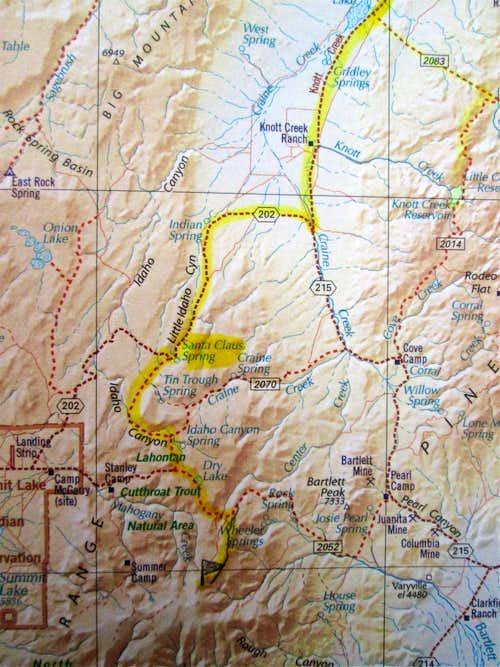 Stewart Map area
