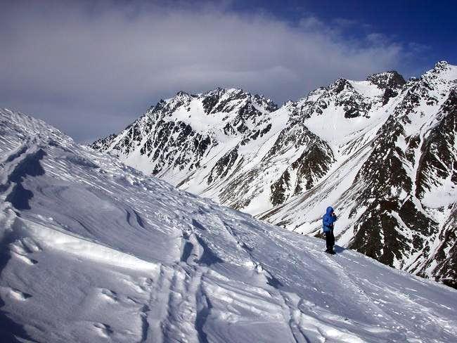 Il monte Velan (3734 m.)...