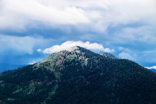 Stormy day over Waterhouse Peak 9,497'