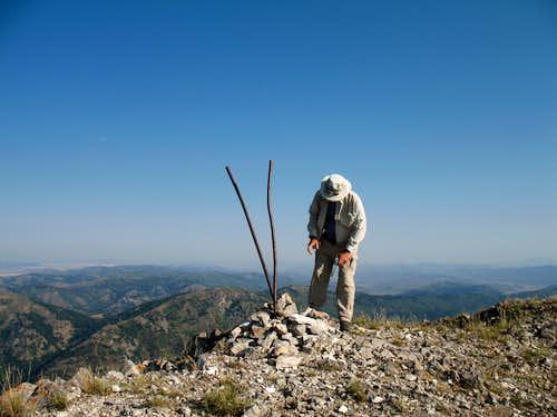 Dennis at the summit
