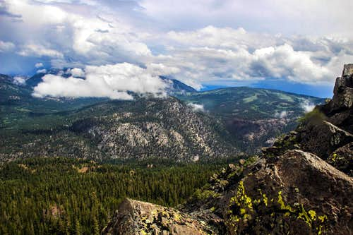 The Carson Range is hiding