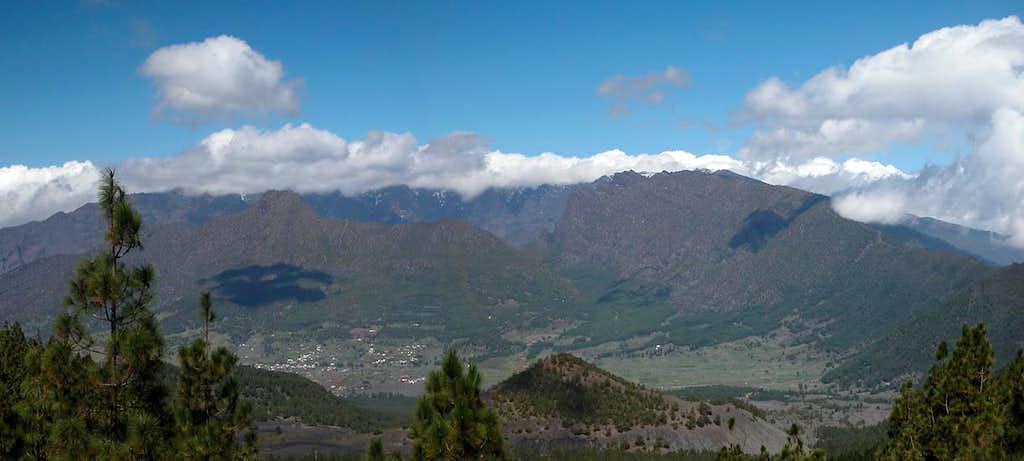 Overview of Caldera de...
