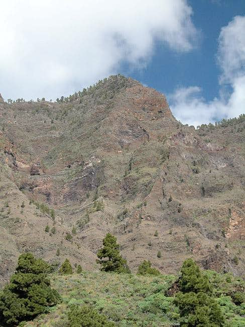 The Hoya Grande south-east...