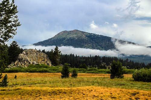 Waterhouse Peak from Hope Valley