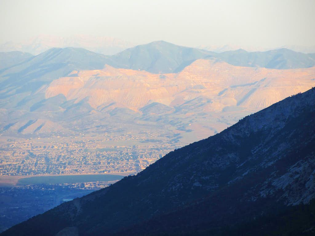 Kennecott from Box Elder Peak