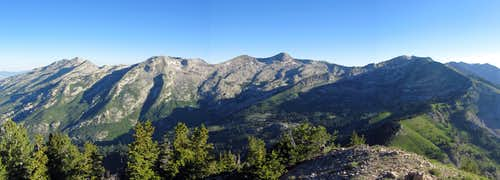 Alpine Ridge pano
