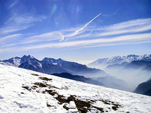 Haze in the Aosta Valley - 12...