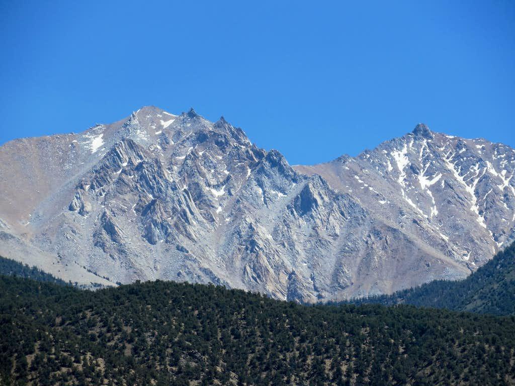 Boundary Peak and Montgomery Peak