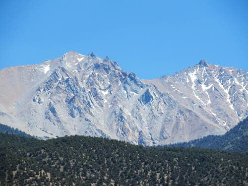 Boundary Peak and Montgomery Peak