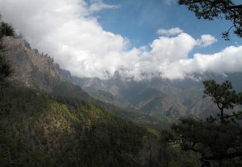 Looking from Mirador de los...