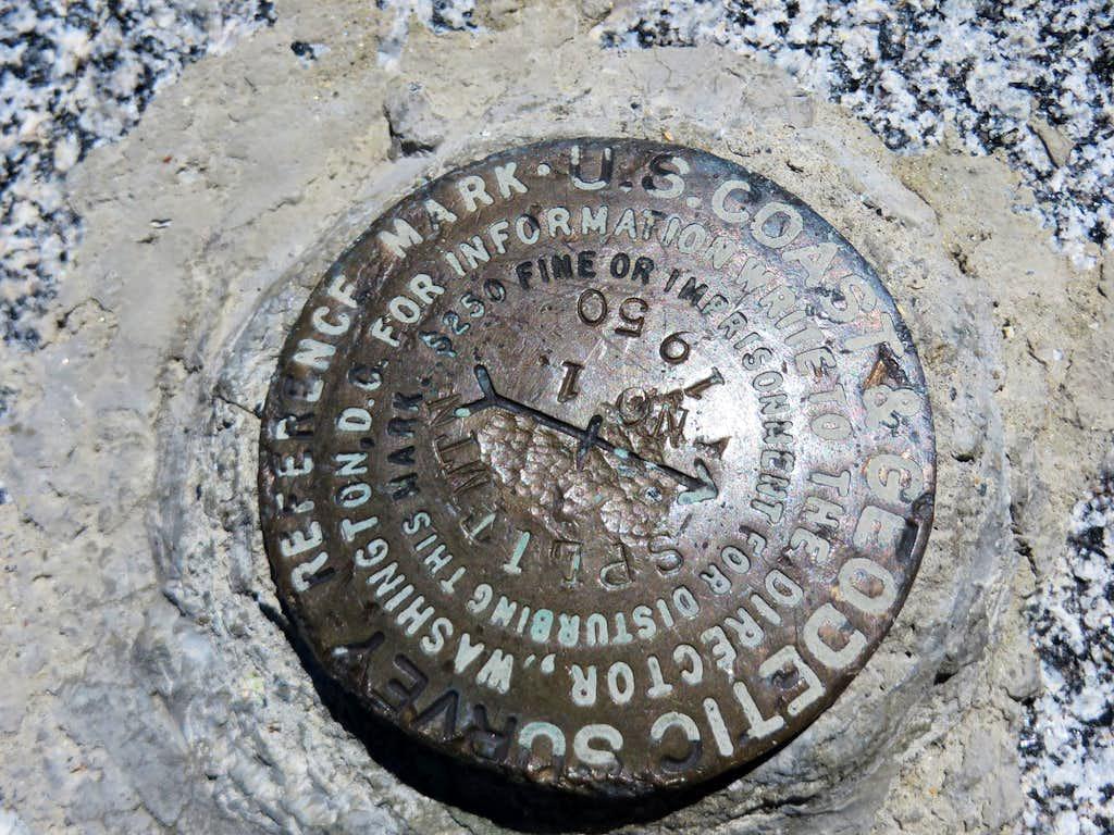 Split Mountain Geological Marker