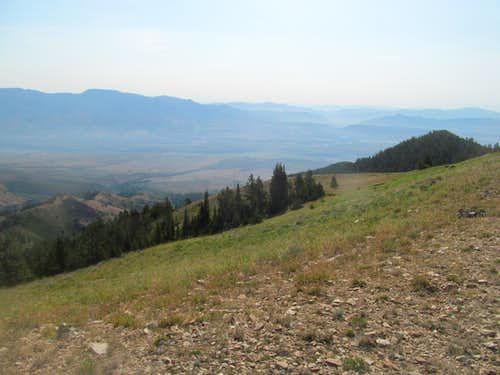 east past the Portneuf Range