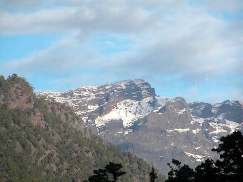 Roque Palmero (2308m) seen...