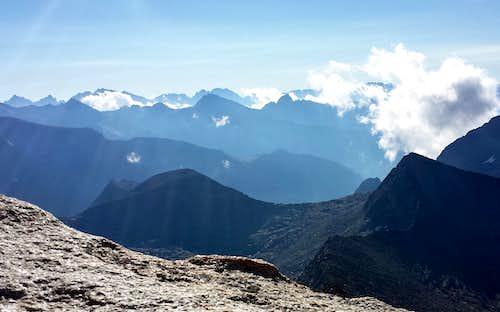 Palisade Crest from Finger Peak