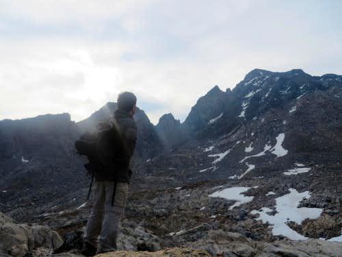 Looking at Mt Agassiz