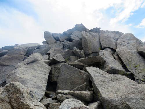 Summit of Mount Agassiz