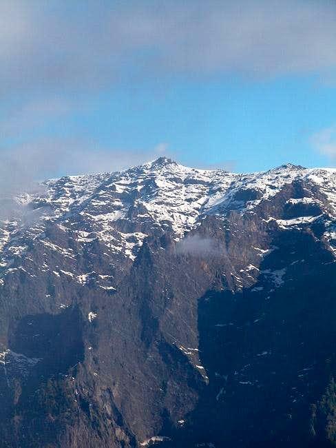 Pico de la Cruz, the most...