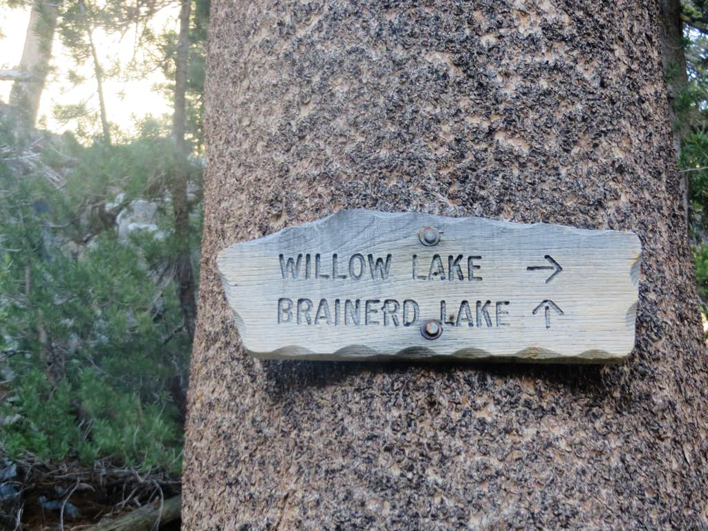 South Fork trail signs