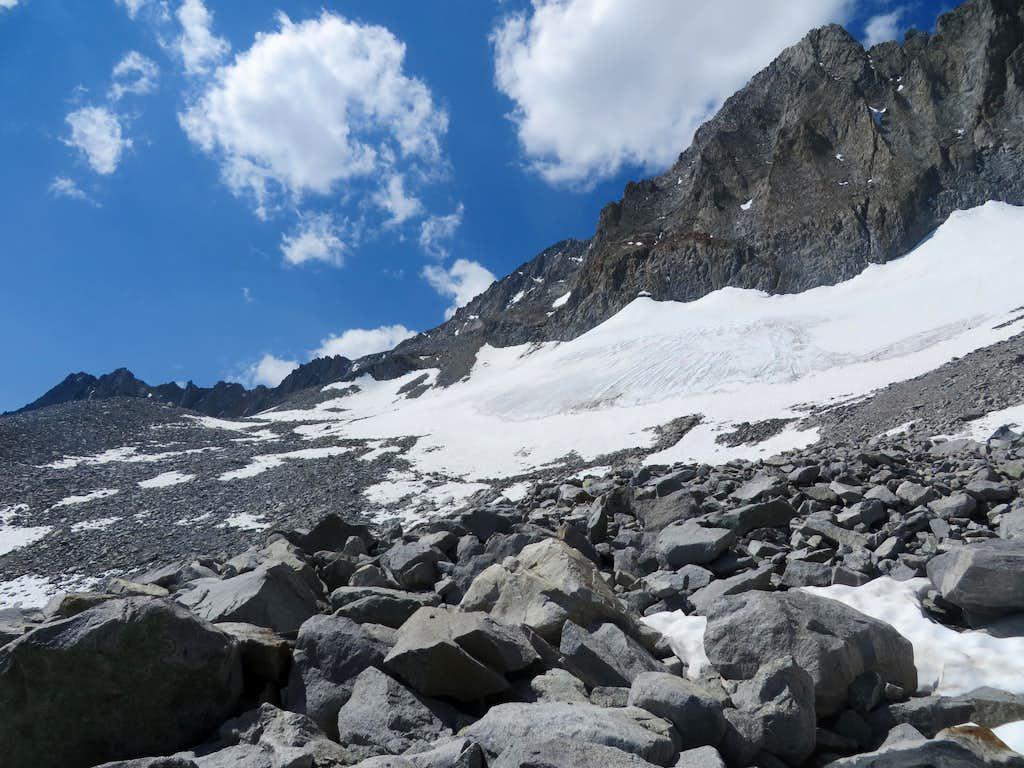 Middle Palisade boulder field