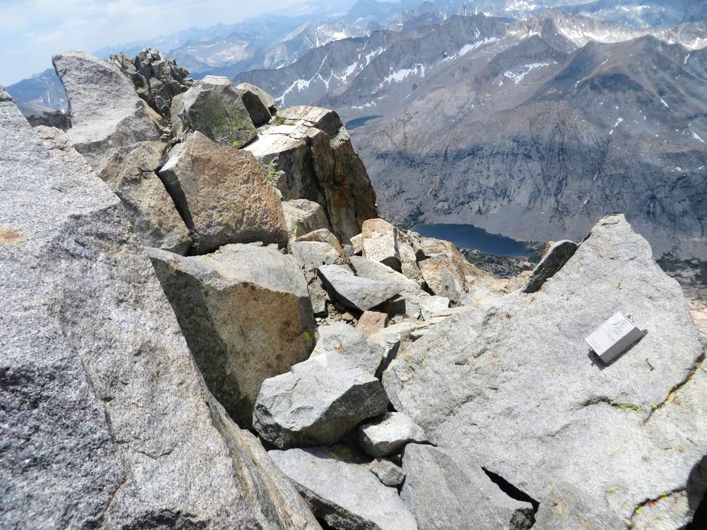 Summit of Middle Palisade
