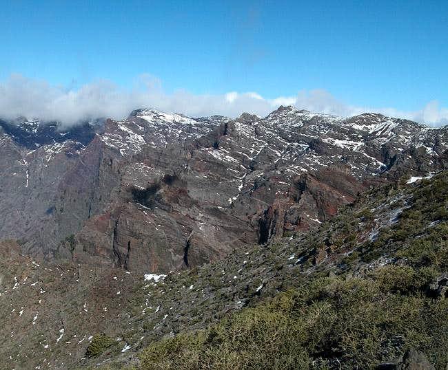 Pico de la Cruz as seen from...