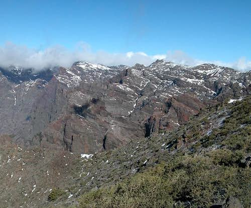 Pico de la Cruz as seen from...