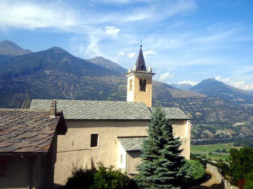 One-week trip around ... Grand Brissogne Church 2015