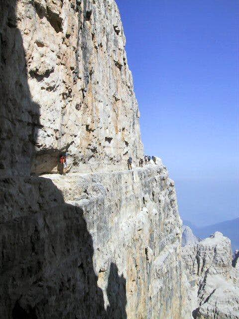 A section of Sentiero delle...