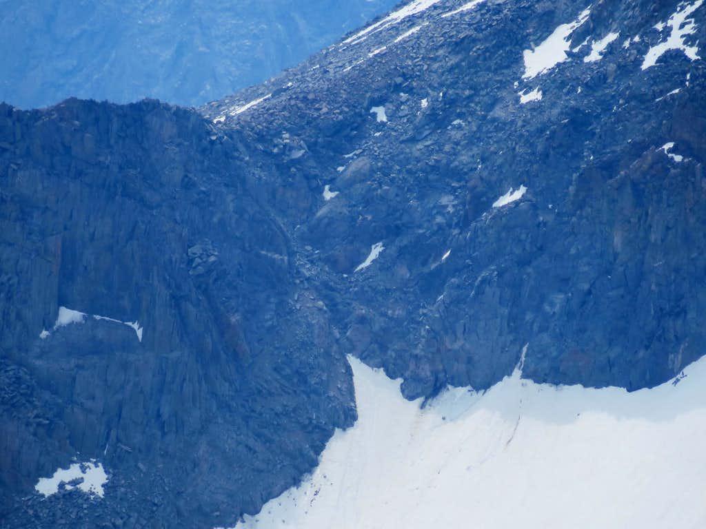 Mount Sill Glacier Notch