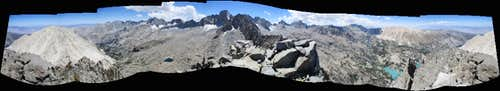 360° pano from the summit of Temple Crag