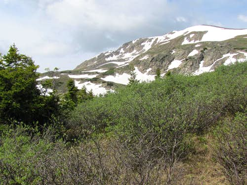 Peak 12955 ft (Kroenke Lake)