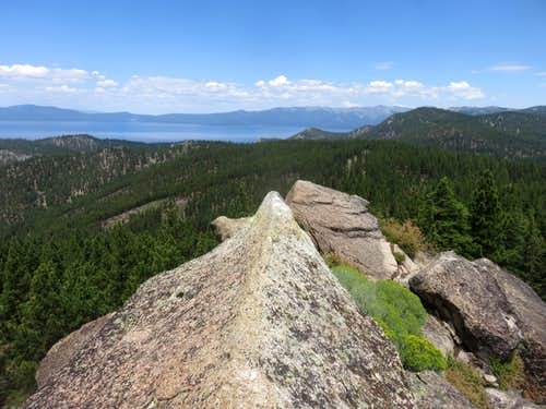 View northwest from Captain Pomin Rock