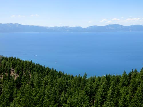 Lake Tahoe viewed from Captain Pomin Rock