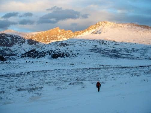 A Winter Traverse of the Bierstadt-Evans Sawtooth