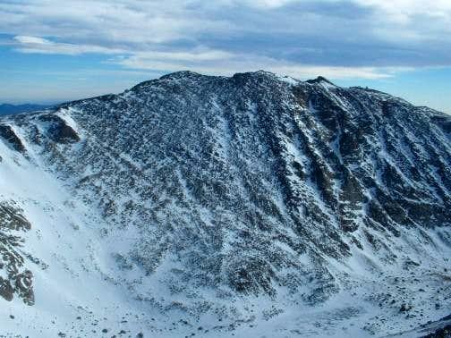 3/12/05: Mount Evans, as seen...