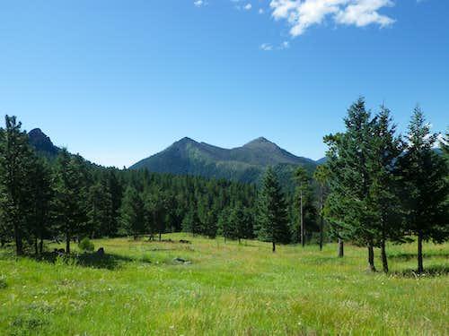 Bear Peak and South Boulder Peak