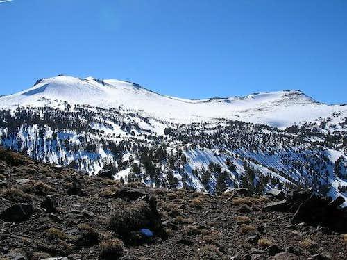 Mt. Rose from Chocolate Peak...