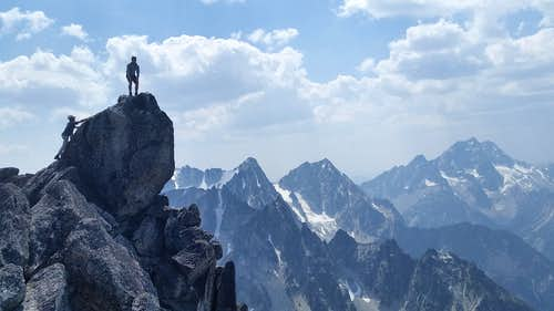 Enchantments Redemption 2015 - Enchantment Peaks Cannon Mountain