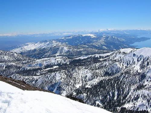 The East side of the Tahoe...