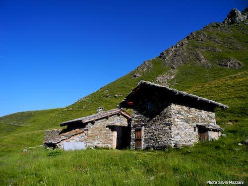 Orsiera-Rocciavrè Natural Park shelter near Laus Lake
