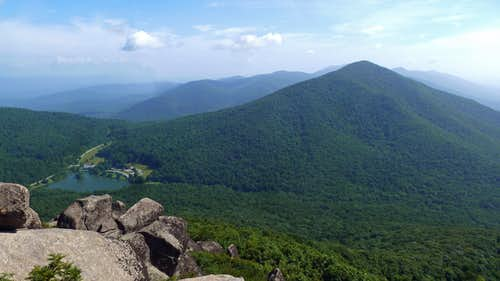 View from the Summit of Sharp Top