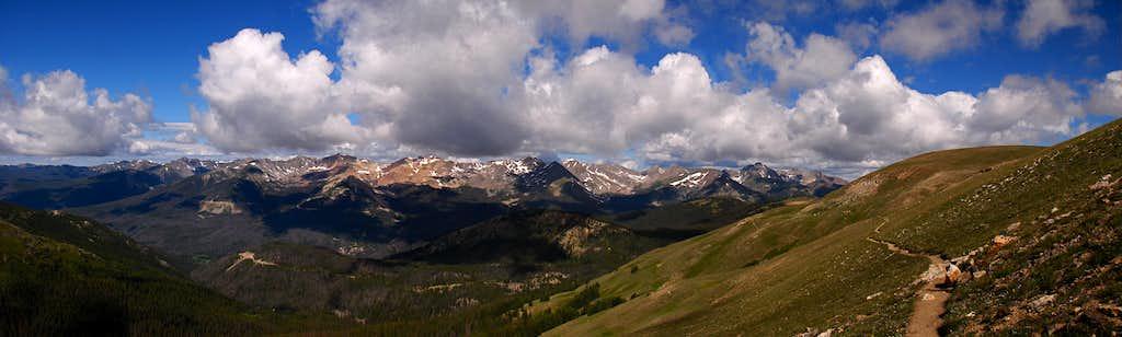 Never Summer Range Panorama