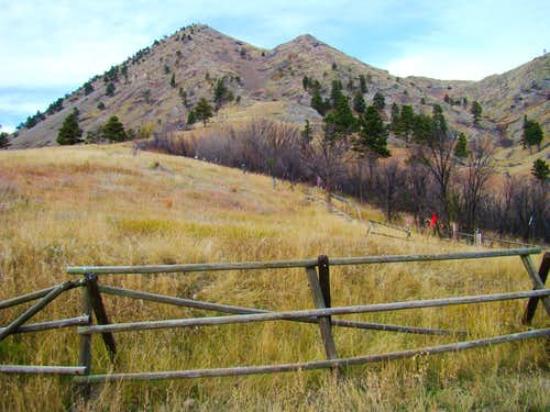 Trail 89 at Bear Butte